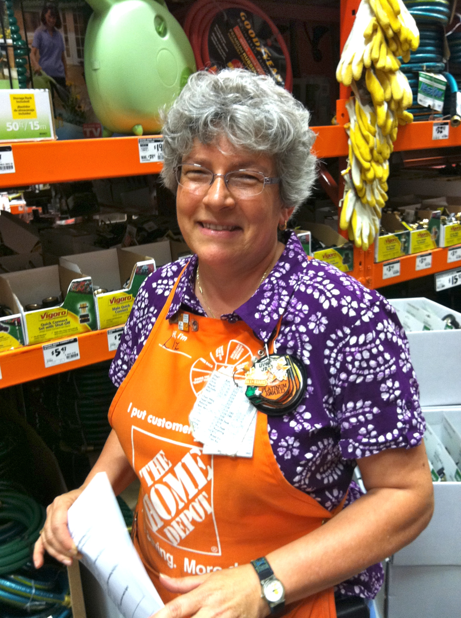 Home Depot Employee Services >> Recognizing Great Customer Service Ruth E Hendricks